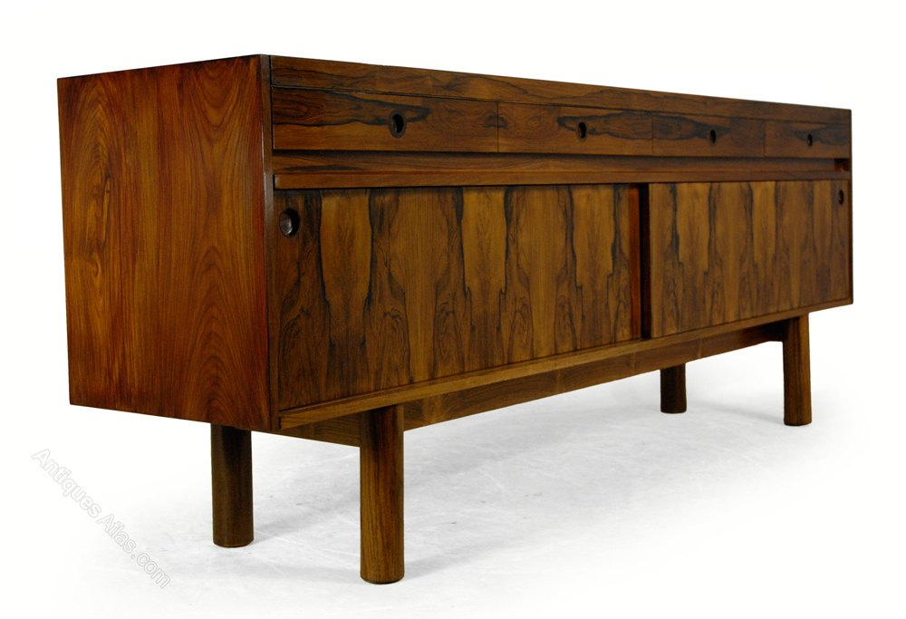 Charming Photos. Mid Century Archie Shine Rosewood Sideboard ...