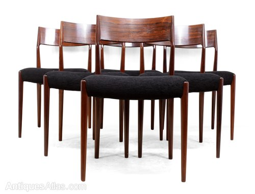 Antiques Atlas Mid Century Dining Chairs Set Of Six In