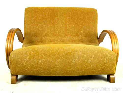 Original 1930s Art Deco Sofa