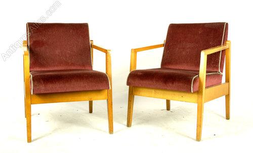 pair of mid century retro chairs - Retro Chairs