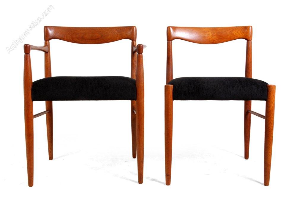 Antiques Atlas Set Of 8 Teak Dining Chairs By H W Klien