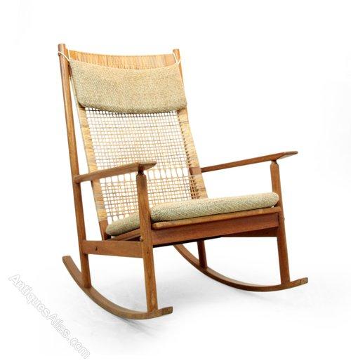 competitive price e587c e1e1b Antiques Atlas - Teak Rocking Chair By Hans Olsen For Juul ...