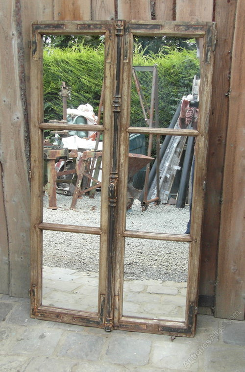 Antiques Atlas Vintage French Window Mirror