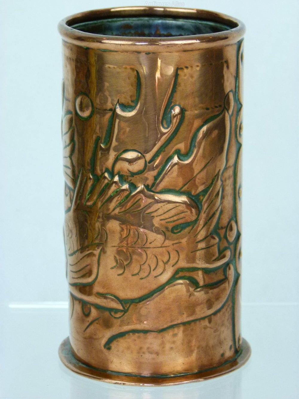 Antiques Atlas A Stunning Newlyn Copper Arts Amp Crafts