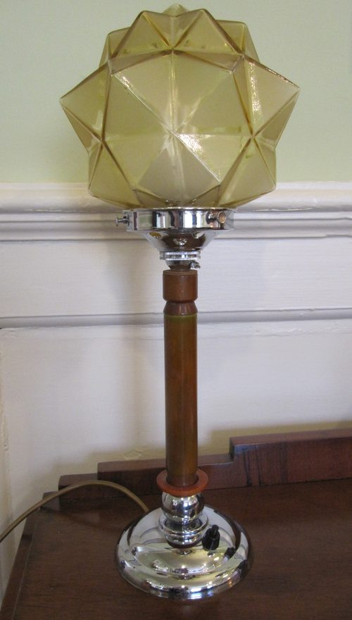 Antiques Atlas Art Deco Table Lamp