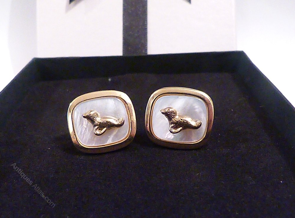 Antiques Atlas Pearl Wedding 30th Anniversary Gifts Cuff Links