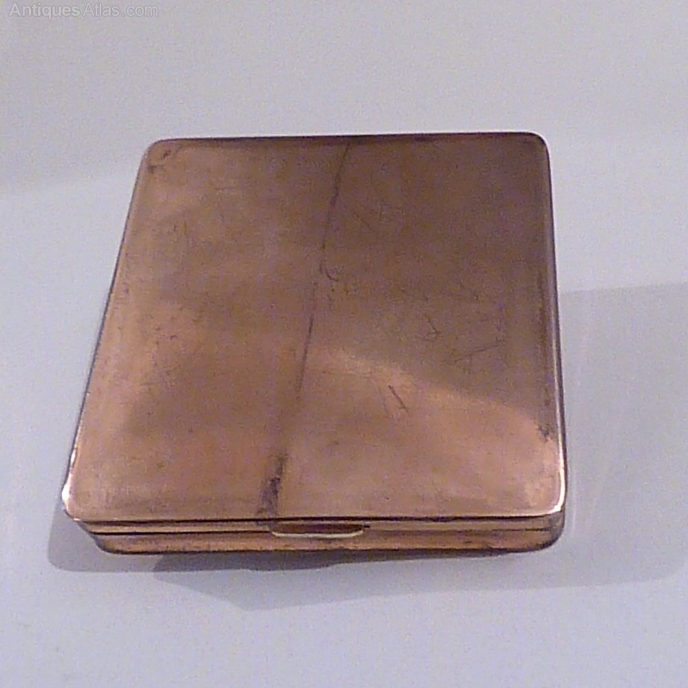 Antiques Atlas Rare Compact 7th Copper Wedding Anniversary Gifts