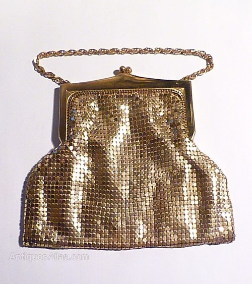 dating whiting and davis mesh bags