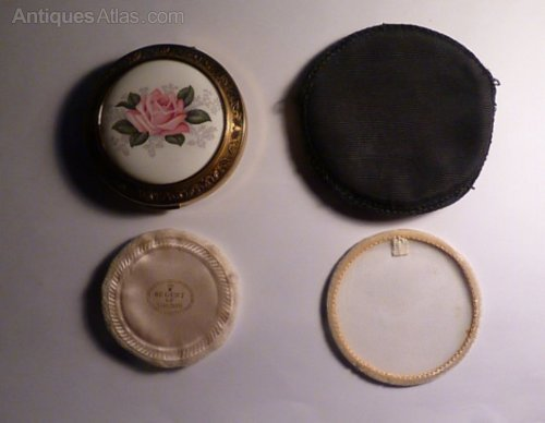 Antiques Atlas Vintage Powder Compacts 1950s Regent Of