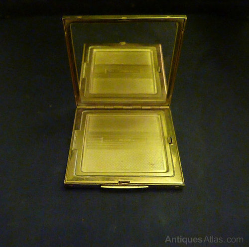 Antiques Atlas Vintage Zenette Powder Compact