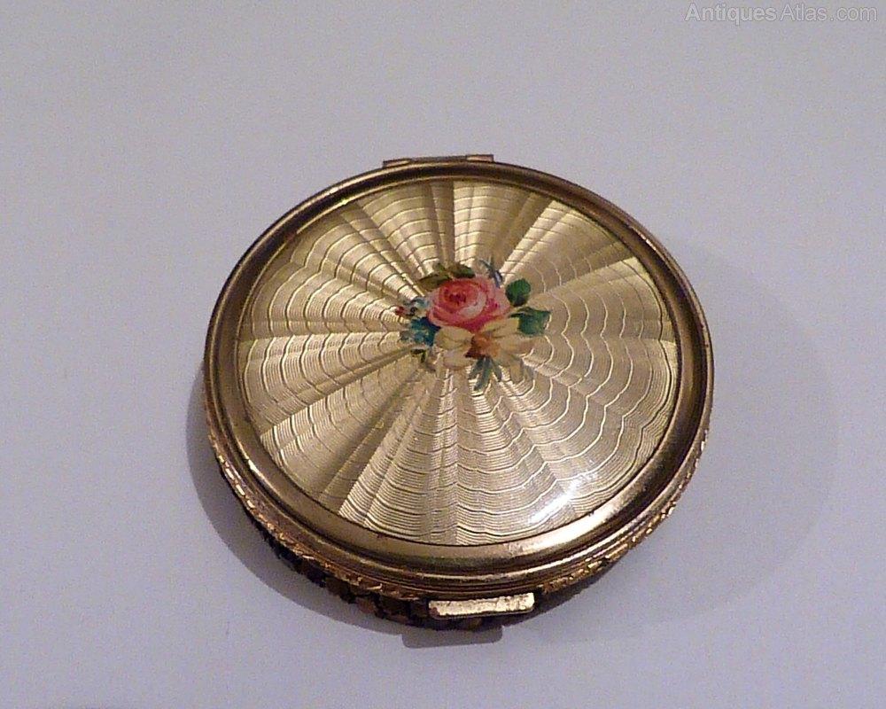 Antiques Atlas Vintage Compacts Celluloid Compact Mirror