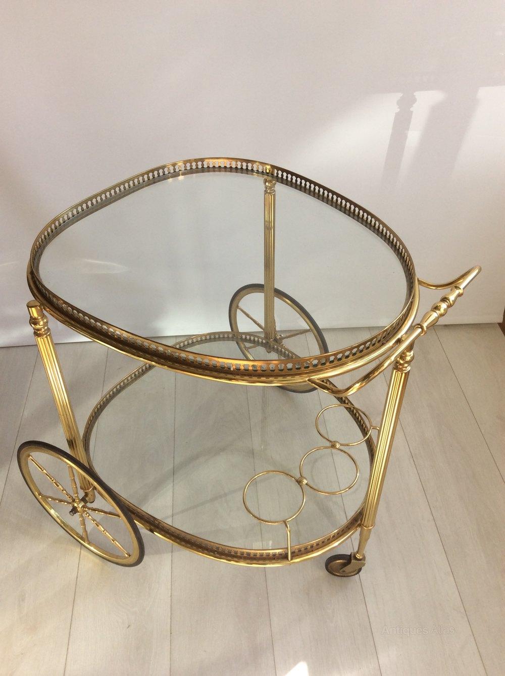 Beautiful Vintage Italian Drinks Trolley Bar Cart Trolleys