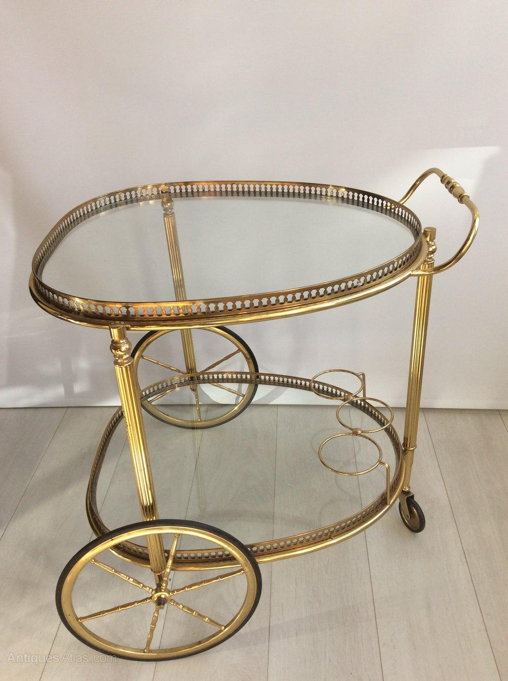 Beautiful Vintage Italian Drinks Trolley Bar Cart Trolleys Alt5 Alt6