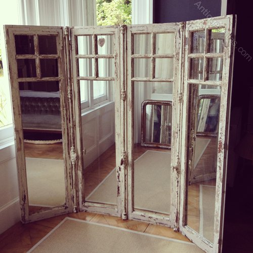 Pair Of 19thc Antique French Windows