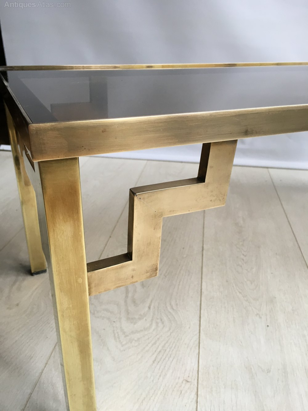 Antiques Atlas Vintage Brass And Glass Coffee Table