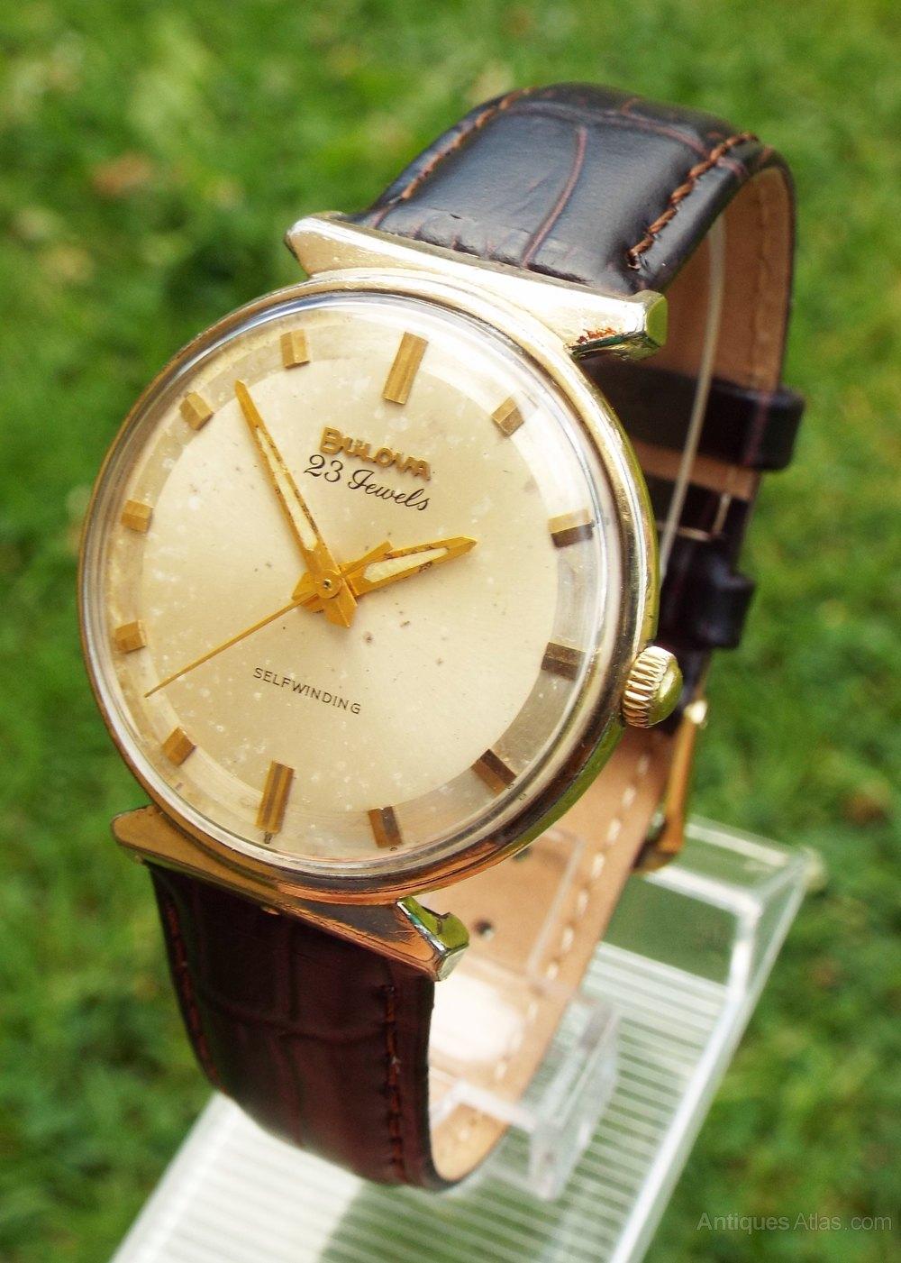 Antiques Atlas - 1963 Gents Bulova Automatic Wrist Watch