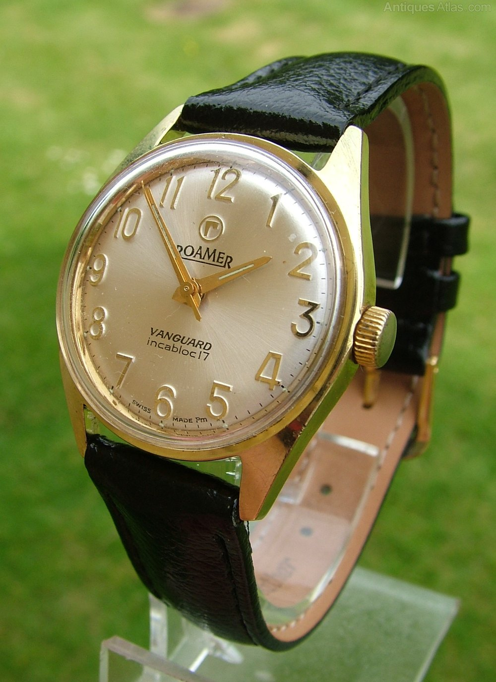 Antiques Atlas - A Gents 1950s Rotary Triple Date Wrist Watch