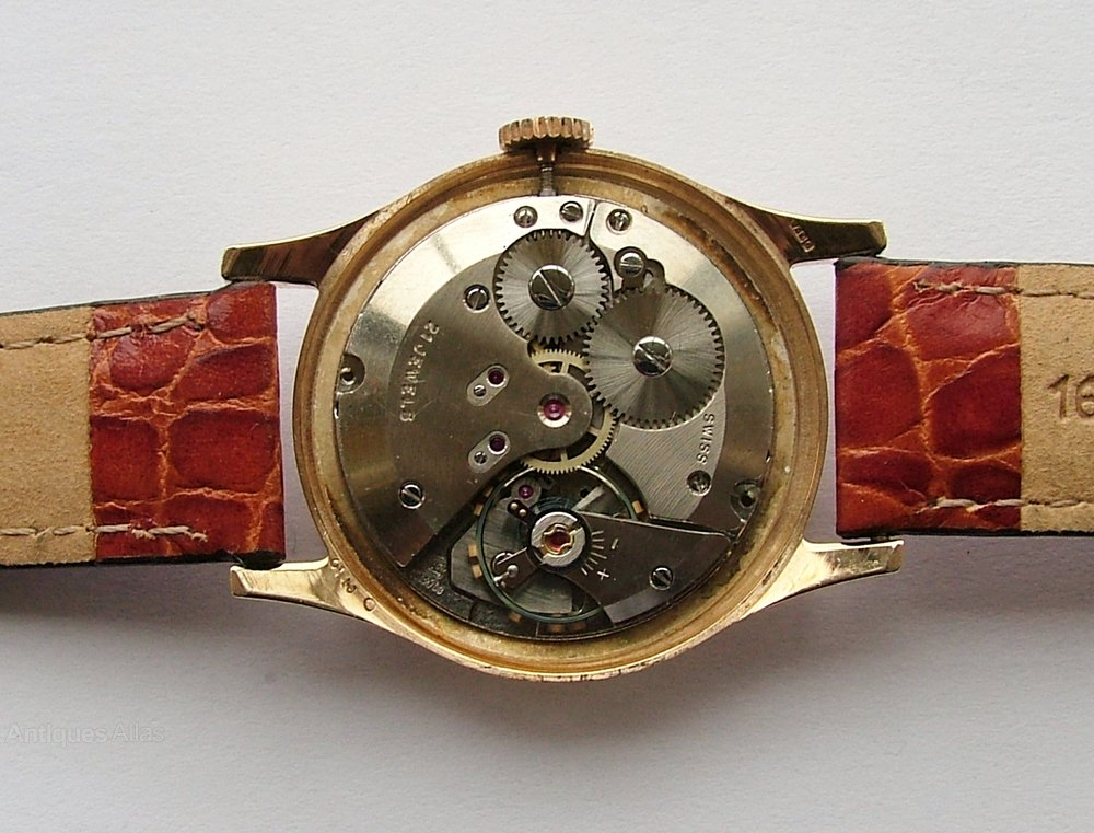 antiques atlas a 1962 gents 9 carat gold rotary wrist