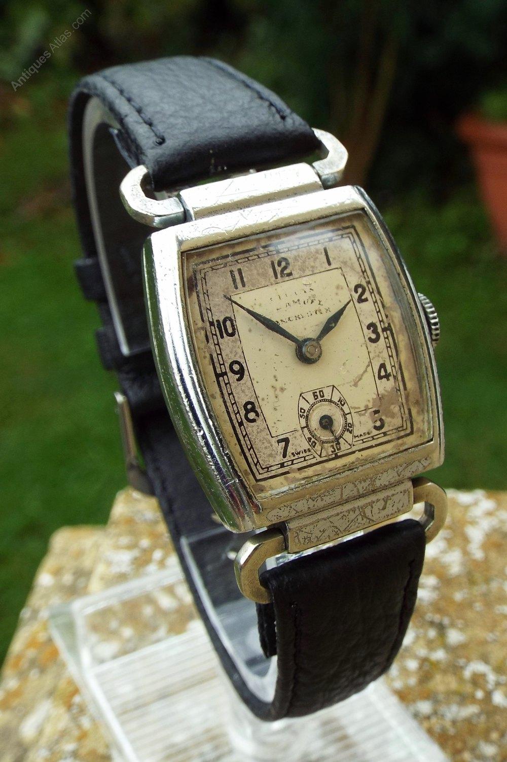 Antiques Atlas A Gents 1930s Climax Driver S Watch H Samuel