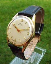 antiques atlas antique and vintage mens watches vintage wrist watch company · a gents 1960s oris wrist watch