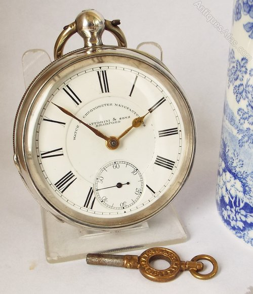 924390704 Antiques Atlas - An Antique 1889 Silver Waltham Pocket Watch