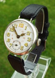 antiques atlas antique and vintage mens watches watch company · an antique silver trench wrist