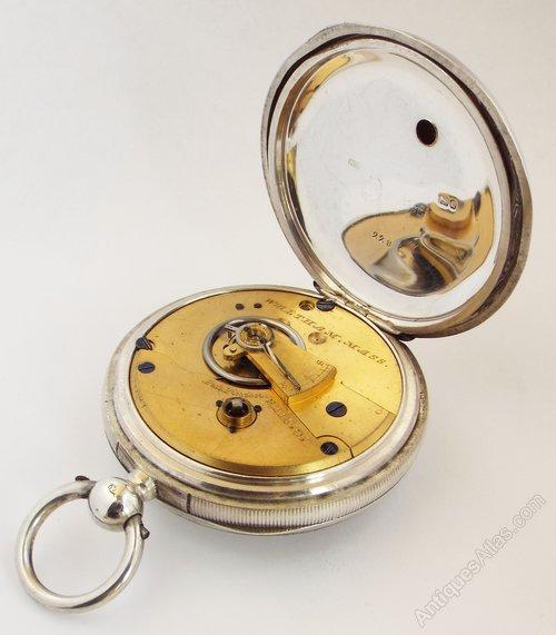Antiques Atlas - Antique 1882 Silver Waltham Pocket Watch