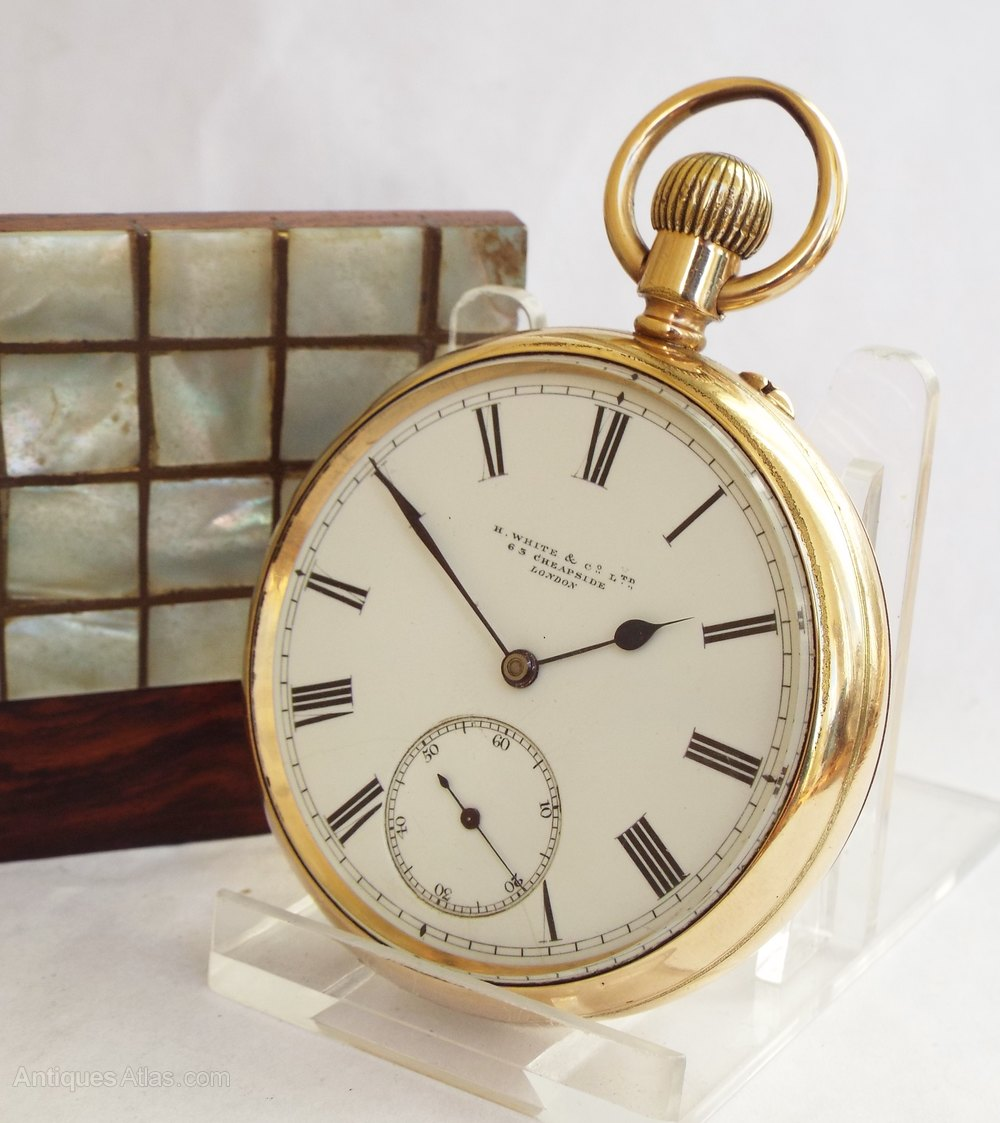 Excellent Vintage antique pocket watch something