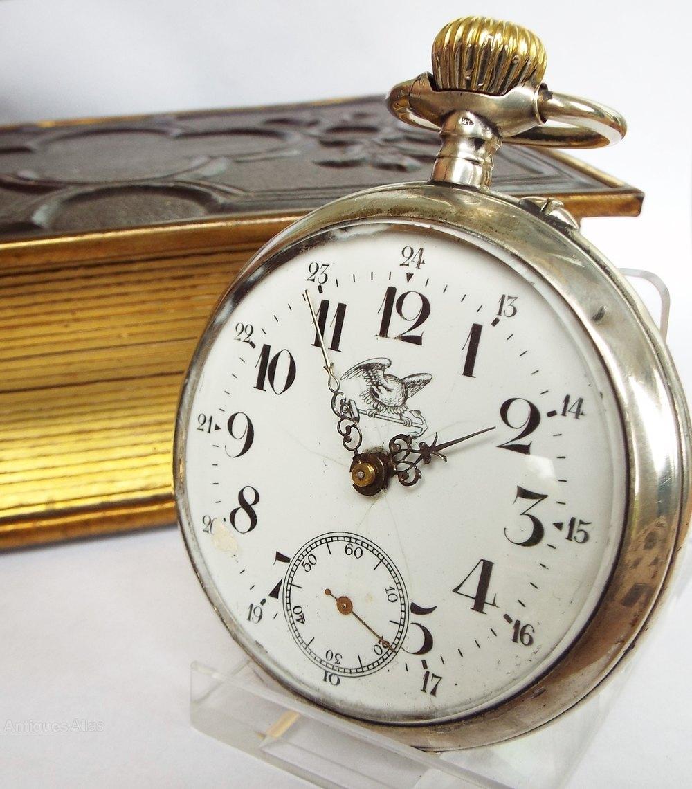 Antiques Atlas - Antique Silver Pocket Watch, Circa 1910s