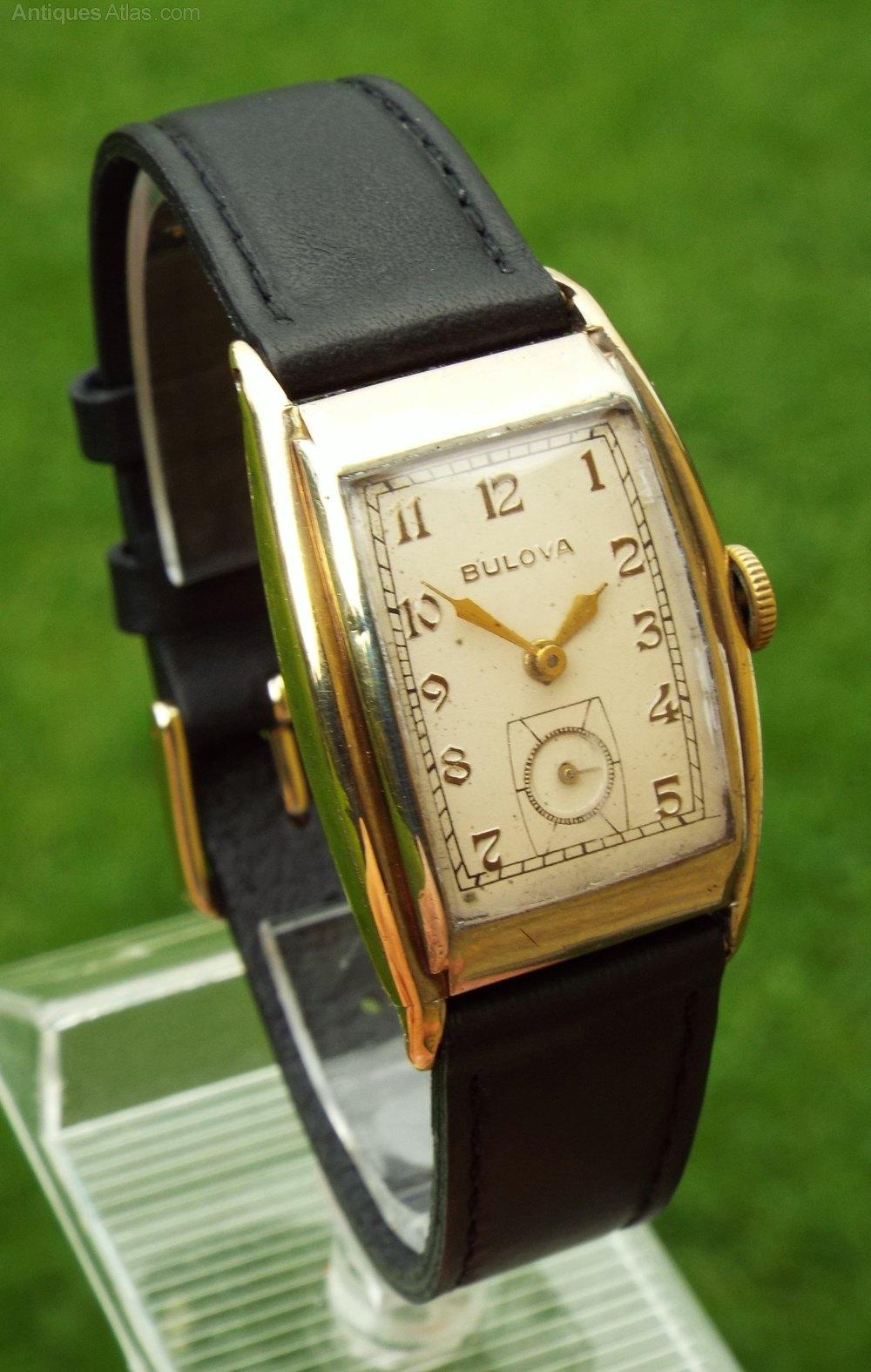 Antiques Atlas - Gents 1930s Bulova Wrist Watch