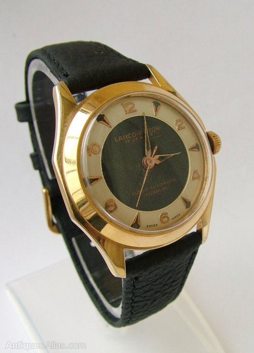 1950f6405d2 Antiques Atlas - Gents 1950s Lanco-Rotor Wrist Watch