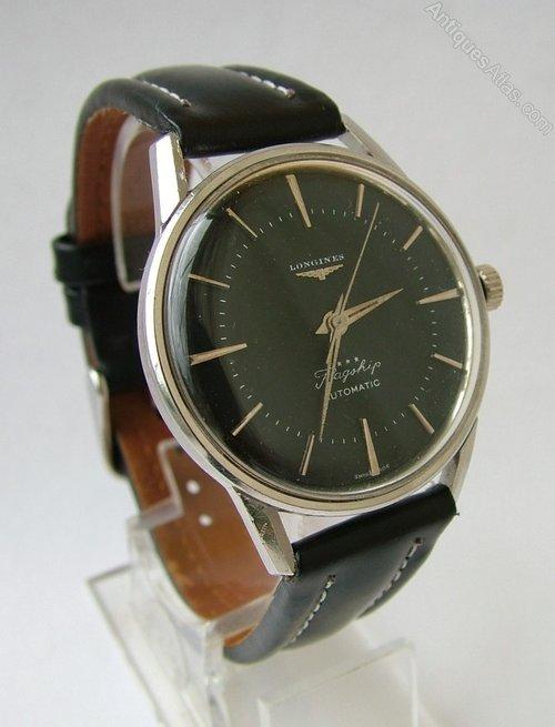 Antiques Atlas Gents 1960 Longines Flagship Wrist Watch