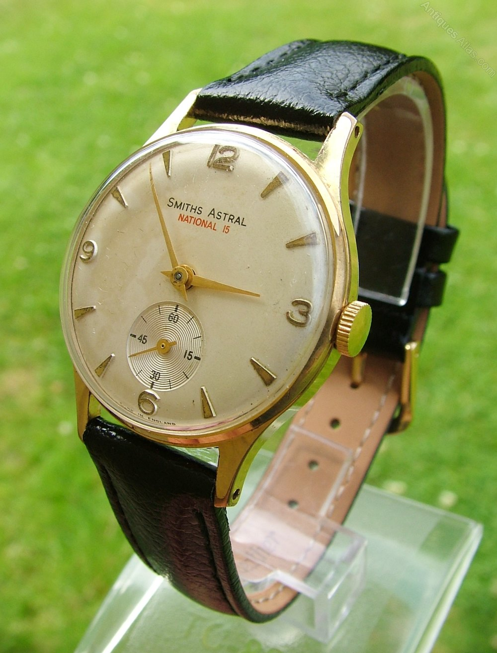 Gents 1960s Smiths Astral National 15 Wrist Watch, Made in
