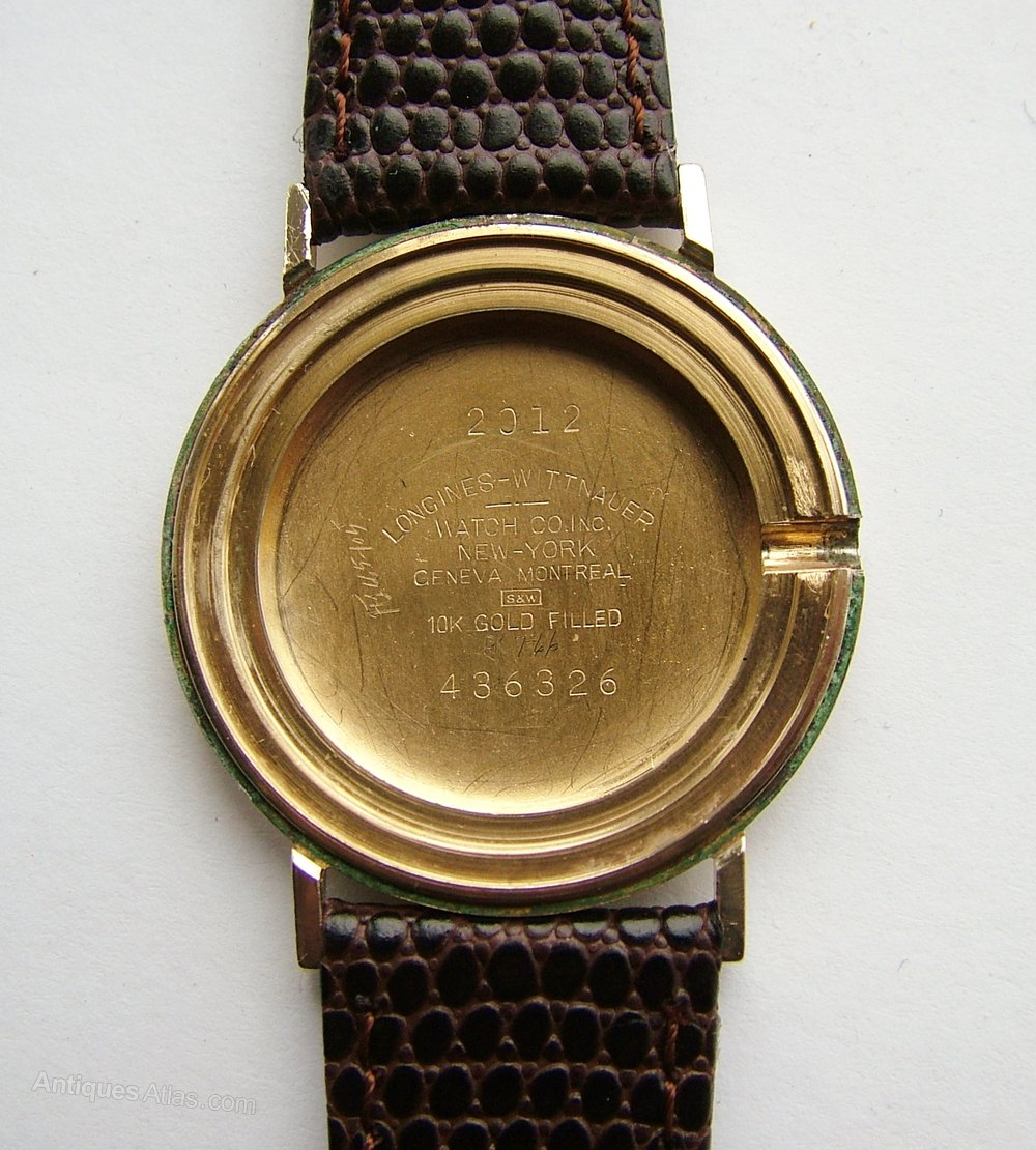 watches gold property filled room vintage fleurier watch l automatic