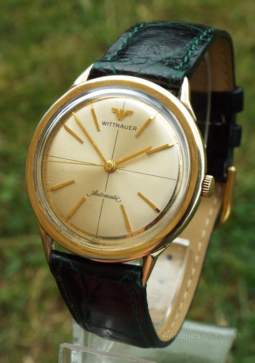 2df93a4d9490 Antiques Atlas - Gents 1960s Wittnauer Automatic Wrist Watch