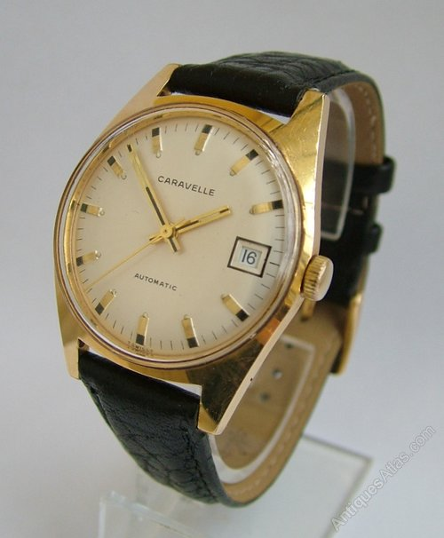 Antiques Atlas Gents 1969 Bulova Caravelle Wrist Watch