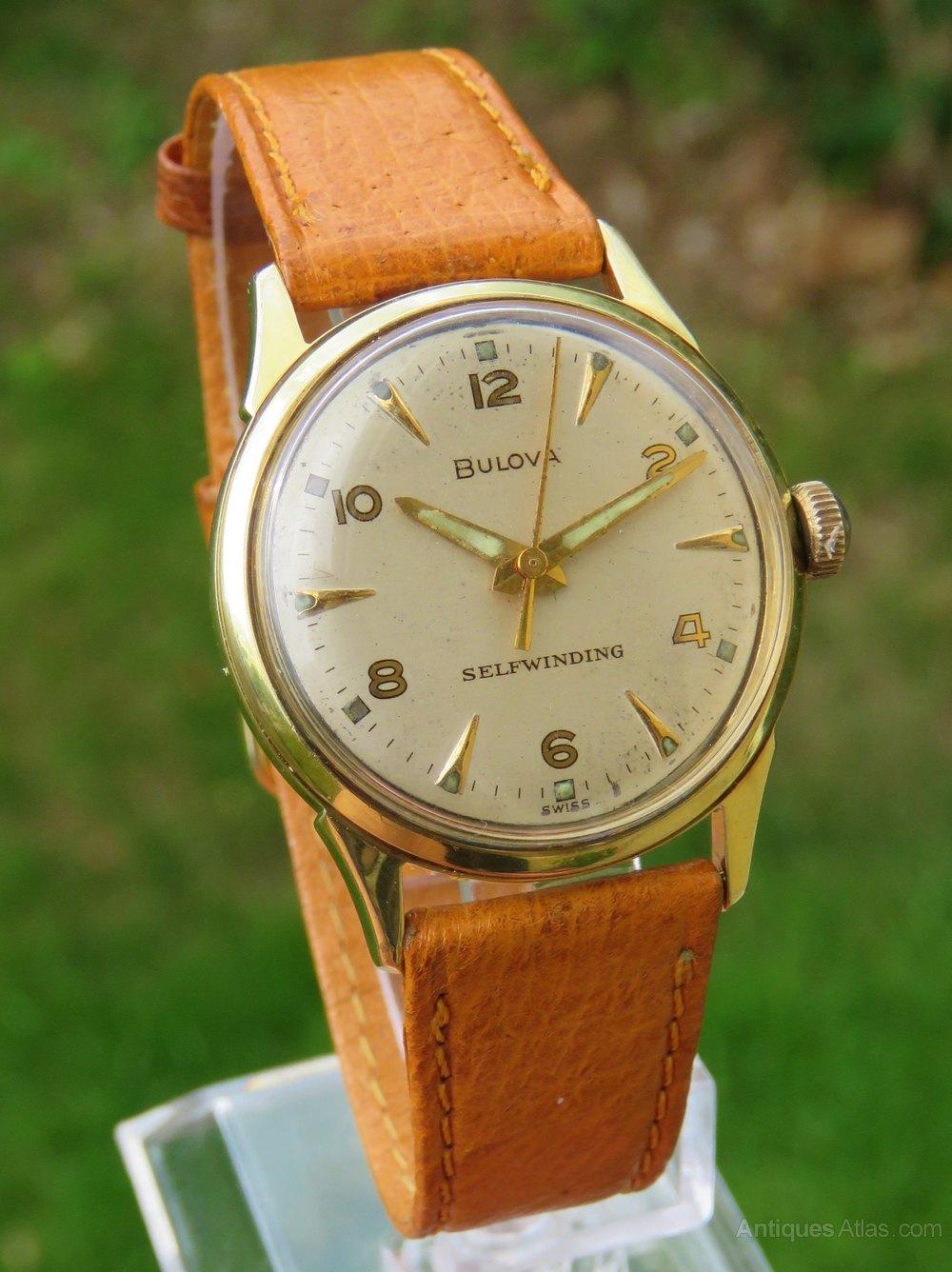 Antiques Atlas - Gents 1969 Bulova Automatic Wrist Watch