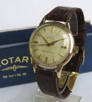 0e941ebb217 ... Watch Company · Gents 9 carat gold Rotary wris