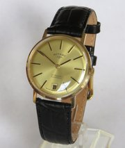 bbf3ded0ea4 ... Antique Clocks Ltd Gents 9ct gold Rotary wrist wa