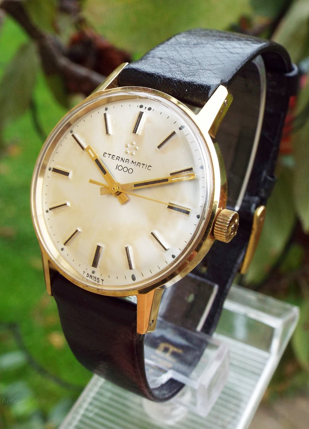 1000 Images About Bi Level Homes On Pinterest: Gents Eterna-Matic 1000 Wrist Watch, 1968