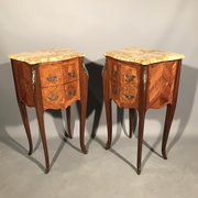 Antiques atlas antique auction rooms amp auction houses in deco interiors pair of french marquetry side tables publicscrutiny Choice Image