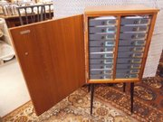 1960s Opticians Cabinet