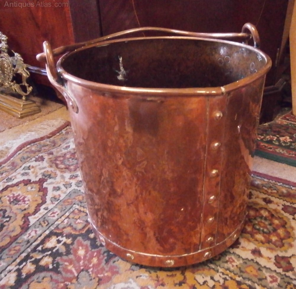Antiques Atlas Arts Amp Crafts Copper Coal Bucket
