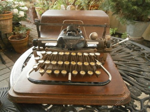 Blickensderfer Model 7 Typewriter - Made In USA