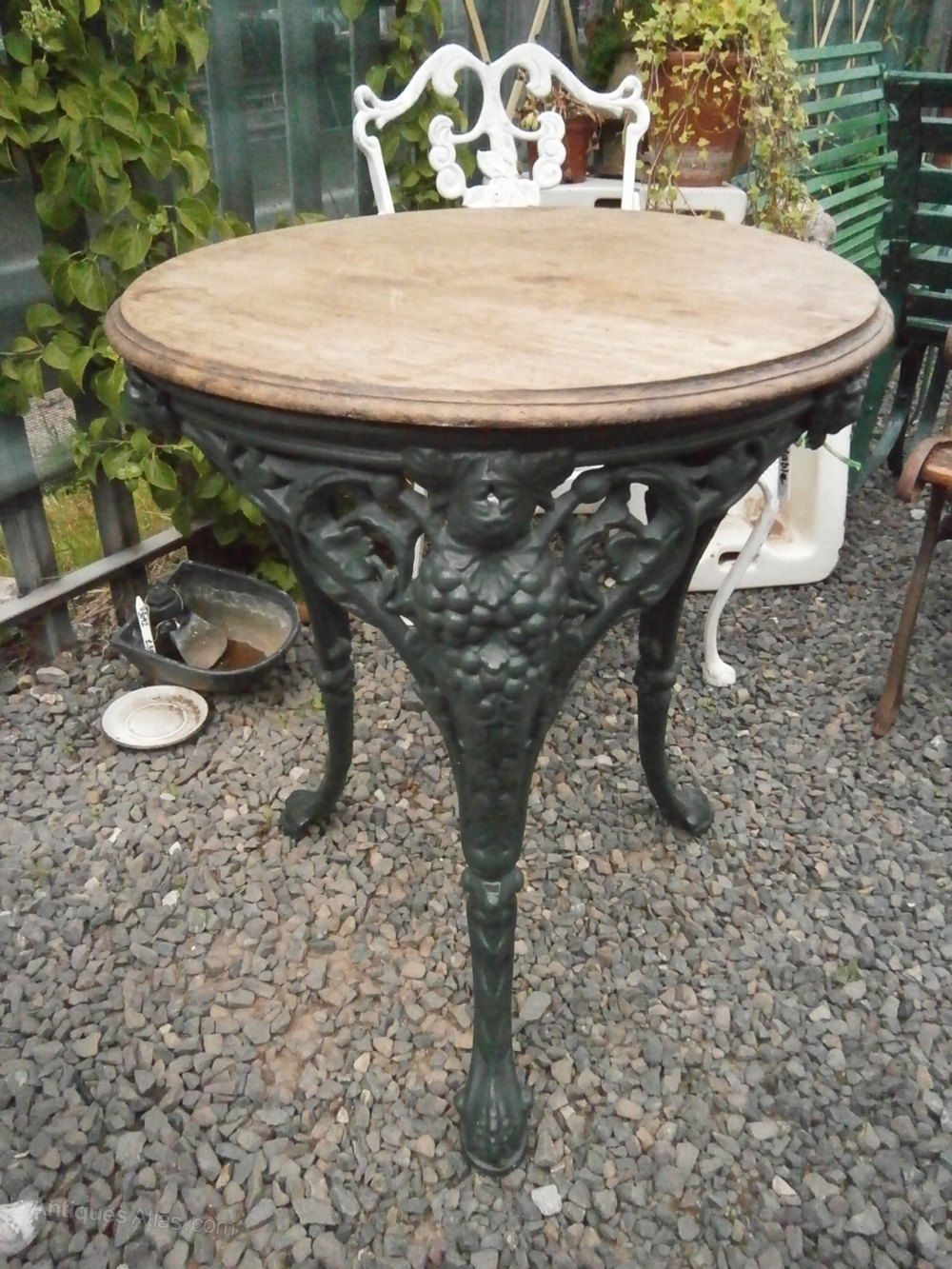 Antiques Atlas Cast Iron Garden Table