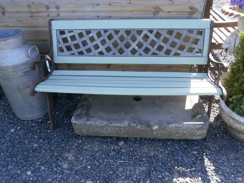 Amazing Antiques Atlas Cast Iron Wooden Bench Ncnpc Chair Design For Home Ncnpcorg