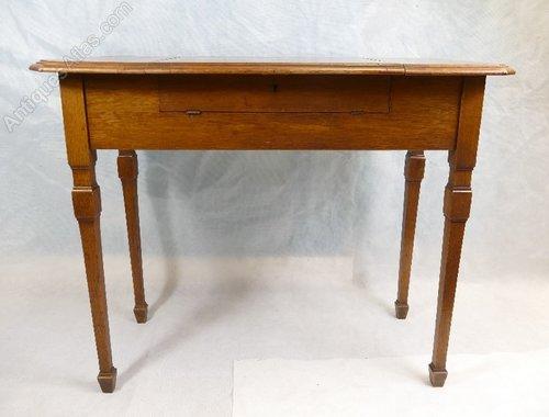 Edwardian Metamorphic The Britisher Writing Table