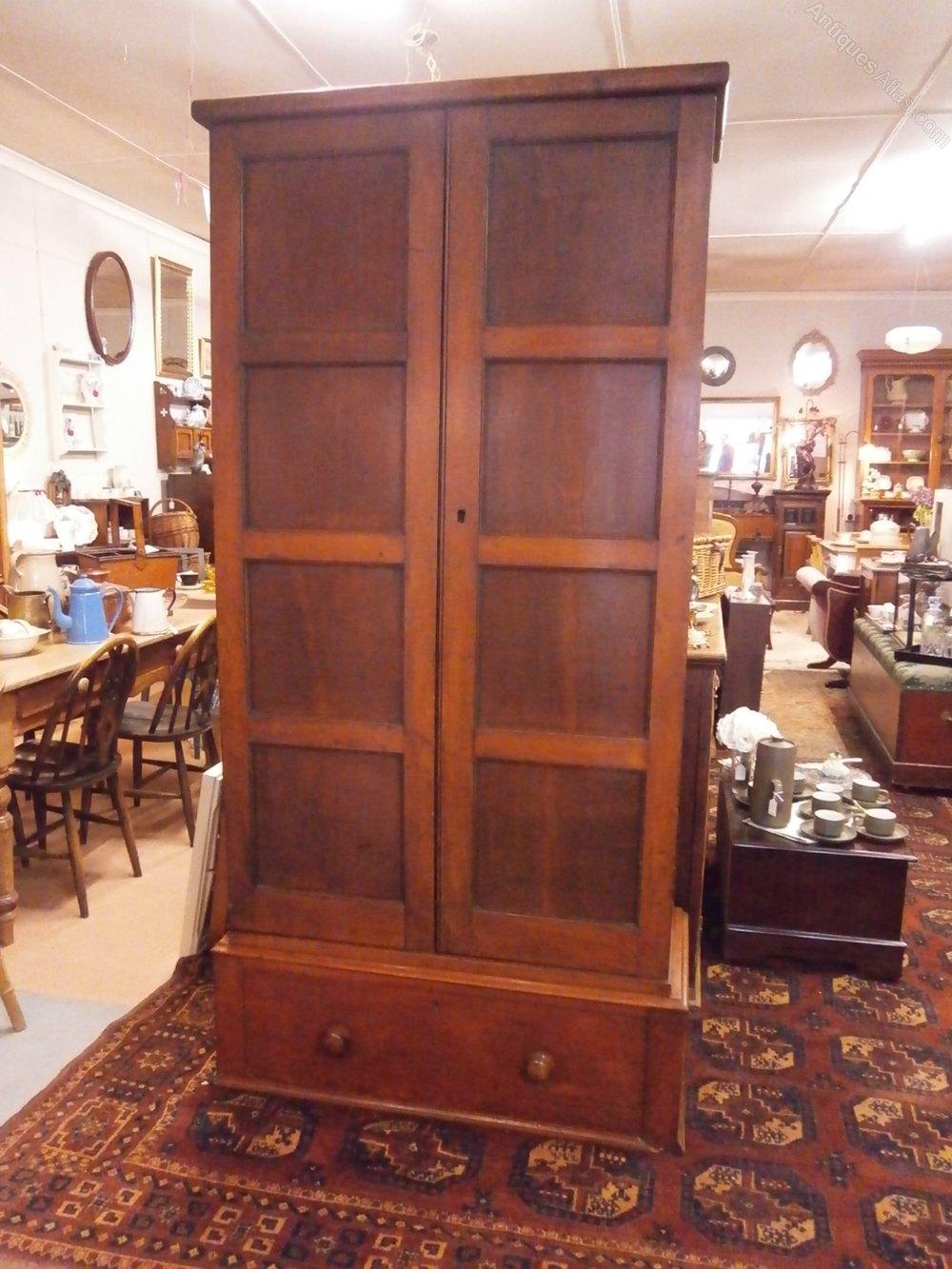 Edwardian Oak Kitchen Larder Cupboard Antique ... - Edwardian Oak Kitchen Larder Cupboard - Antiques Atlas