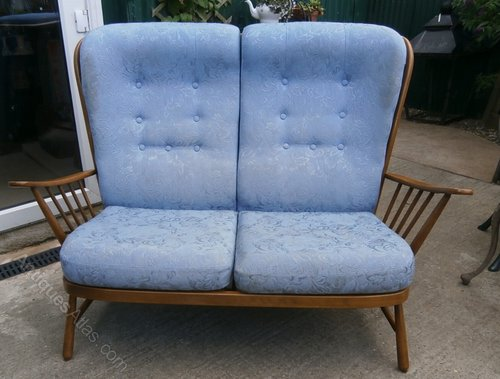 Antiques Atlas Ercol Blonde Evergreen 2 Seater Sofa