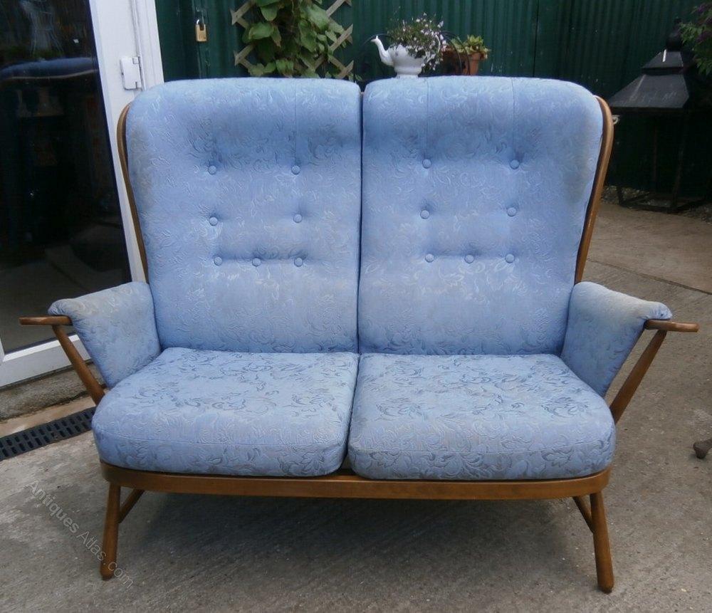 Antiques Atlas Ercol Blonde Evergreen 2 Seater Sofa